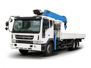 Бортовые грузовики с КМУ